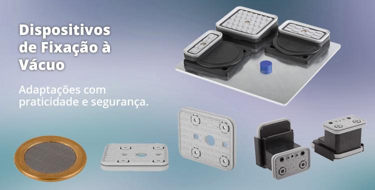 Dispositivos de fixação à vácuo